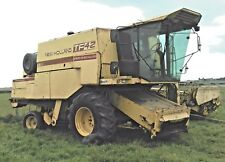 new holland combine harvester tf-42 17ft cutting header,