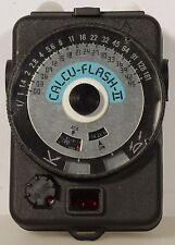 Quantum Instruments Calcu Flash II Digital Light Meter ~ Case ~ Instructions