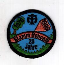 Patch Écusson Armoiries Scout Dpsg Stamm Roncalli Niederkassel 20 Années 1996