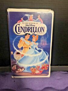 CENDRILLON VHS FRANCAISE