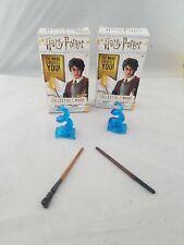 Harry potter Die-Cast Wand Collection Draco & Neville Mini Wands Jakks pacific
