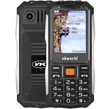 "VKworld V3S 2.4"" Quad Band Unlocked Mobile Phone Camera MP3 Waterproof Cellphone"