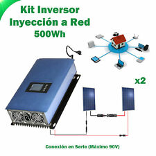 Kit Solaire injection a ROUGE 500Wh kit consommation auto