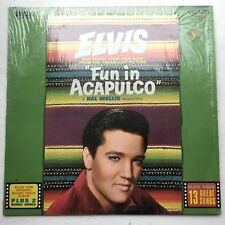 ELVIS PRESLEY Stereo LP Fun In Acapulco RCA LSP-2756 EX LP VINYL SHRINK