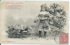 CPA- Carte postale -Bergeret - Bébé veut un petit frère - 1