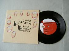"BROKEN SOCIAL SCENE Ibi Dreams Of Pavement (A Better Day) 7"" vinyl single"