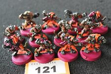 Games Workshop Bloodbowl Skaven Team 12 x Metal Figures Blood Bowl Painted OOP