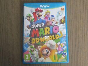 JEU NINTENDO WII U SUPER MARIO 3D WORLD