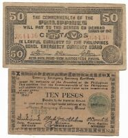 Old Japanese Invasion WWII Japan War 1942 1944 WW2 Note Collection Lot/UK/US147