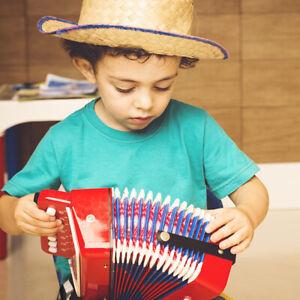 7-Key 2 Bass Kids Accordion Children's Mini Musical Instrument Rhythm Toy Gift