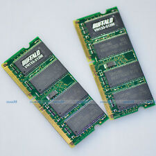 1GB 2 x 512MB PC133 133Mhz 144pin Sodimm SDRAM Laptop Notebook Memory 1G Upgrade
