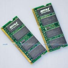 1GB 2 x 512MB PC133 133Mhz 144pin Sodimm SDRAM Laptop Notebook Memory 1G Upgrade