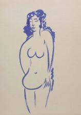 Künstlerische Aquarell-Malereien im Impressionismus-Akt - & Erotik-Motiv