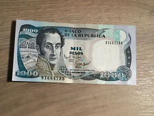 Billet Colombie 1000 Pesos 1994