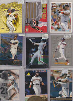 BARRY BONDS LOT OF BASEBALL CARDS 400 INSERTS ROOKIES PARELLES MANY BRANDS NM-M