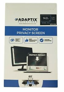"Adaptix Solutions Privacy Screen Filter (Diagonally Measured) 14.0"""
