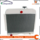 4-Row Radiator For 1946-1964 48 Jeep Willys Station Wagon Truck 475 L/ L6