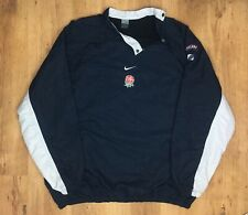 Very Rare Vintage Nike Player Issue England Rugby 2003 Jumper Pullover Mens 3XL