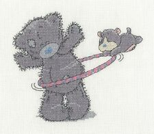"DMC Tatty Teddy & Peanuts Cross Stitch Kit ""Hula Hoop"""