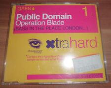 Public Domain-operazione Blade (CD maxi)