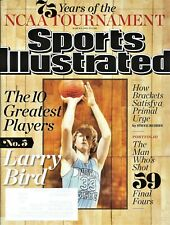 3/6/2013 Sports Illustrated 10 Greatest Tournament Players LARRY BIRD 75 NCAA