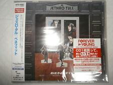 Jethro Tull Benefit [+4] Japan CD WPCR-80067 W/Obi