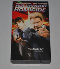 HOLLYWOOD HOMICIDE  Signed HARRISON FORD  VHS MOVIE Autographed