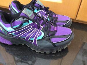 Karrimor Tempo 3 UK Size 4 (EU 37) Womens Purple D30 Lite Trail Running Trainers
