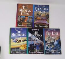Dave Gustaveson Reel Kids Adventures Lot 5 VG 1 3 4 6 7 Missing Video Lost Diary