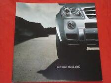 MERCEDES W164 M-Klasse ML 63 AMG Prospekt von 2005