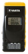 VARTA Batterietester 00891 LCD-Digital-Display Batterie-/Akku-/Knopfzellentester