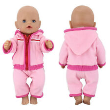 Children Gift Baby Clothes 43cm Fit 17inch American Doll Suit Sport Dresses