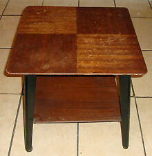 Vintage/Retro Square Side & End Tables