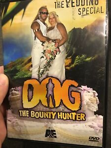 Dog The Bounty Hunter - The Wedding Special region 1 DVD (A&E reality tv series)