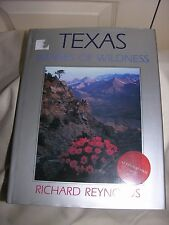 TEXAS IMAGES OF WILDNESS BY RICHARD REYNOLDS HARDCOVER WITH DUST JACKET Sign