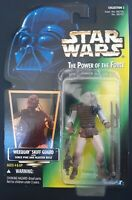 1996 HASBRO STAR WARS POTF2 WEEQUAY MOC POWER OF THE FORCE GREEN CARD HOLOGRAM