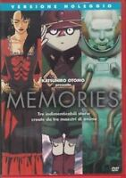 Memories (1995) DVD RENT NUOVO Sigillato Katsuhiro Otomo Morimoto Okamura Kanno