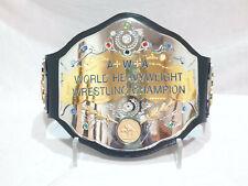 AWA World Heavyweight Wrestling Championship Belt 4mm Top Plated 3 Layer Belt