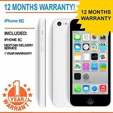 IPhone Apple 5C da 8GB EE Arancione T-Mobile Virgin-Bianco