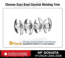Door Handle Under Chrome Bowl Cover Molding C321 Fit HYUNDAI 2006 - 2008 Sonata