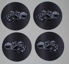 Rumble Scat pack Bee Center cap Wheel Decals Graphics Fit Factory & Aftermarket
