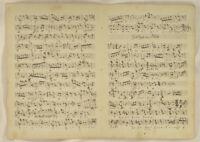 LÄNDLER MUSIK Walzer NOTEN Handschrift Orig Doppelblatt 1790 Tanzmusik Volkstanz
