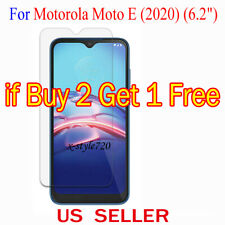 1x Clear LCD Screen Protector Guard Cover Film For Motorola Moto E (2020)