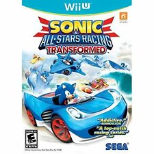 Sonic And All-Stars Racing Transformed For Wii U With Manual And Case Good 4E