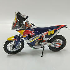 KTM SXF 450 Rally 2014 Dakar RED BULL No 2 Marc Coma Motorcycle Model  1/12
