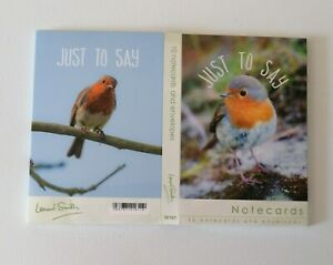 10 Pack Blank Notecards Note Cards Notelets Robins Size 94 x 144mm