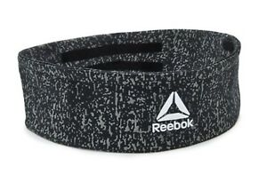Reebok Running Headband Sports Band Black Tennis Hairband YOGA Bands RAYG-13201