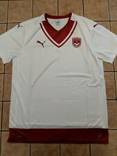Bordeaux Girondins Away Shirt 16/17 Men's Puma Replica Blank Jersey White sz XL