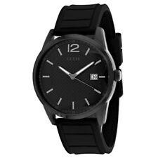 Guess Men's W0991G3 Perry Black Watch With Silicone Strap