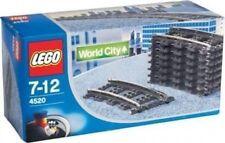LEGO® System 4520 8 Gebogene Gleisstücke zur 9V Eisenbahn 4511 NEU ungeöffnet